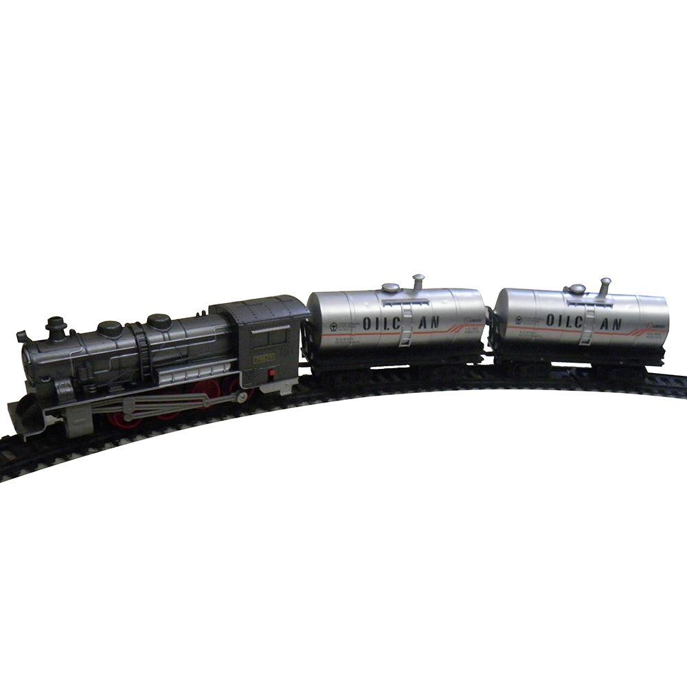 Ferrorama Trem Locomotiva Luz Crianca 15 Pecas Infantil Brinquedo