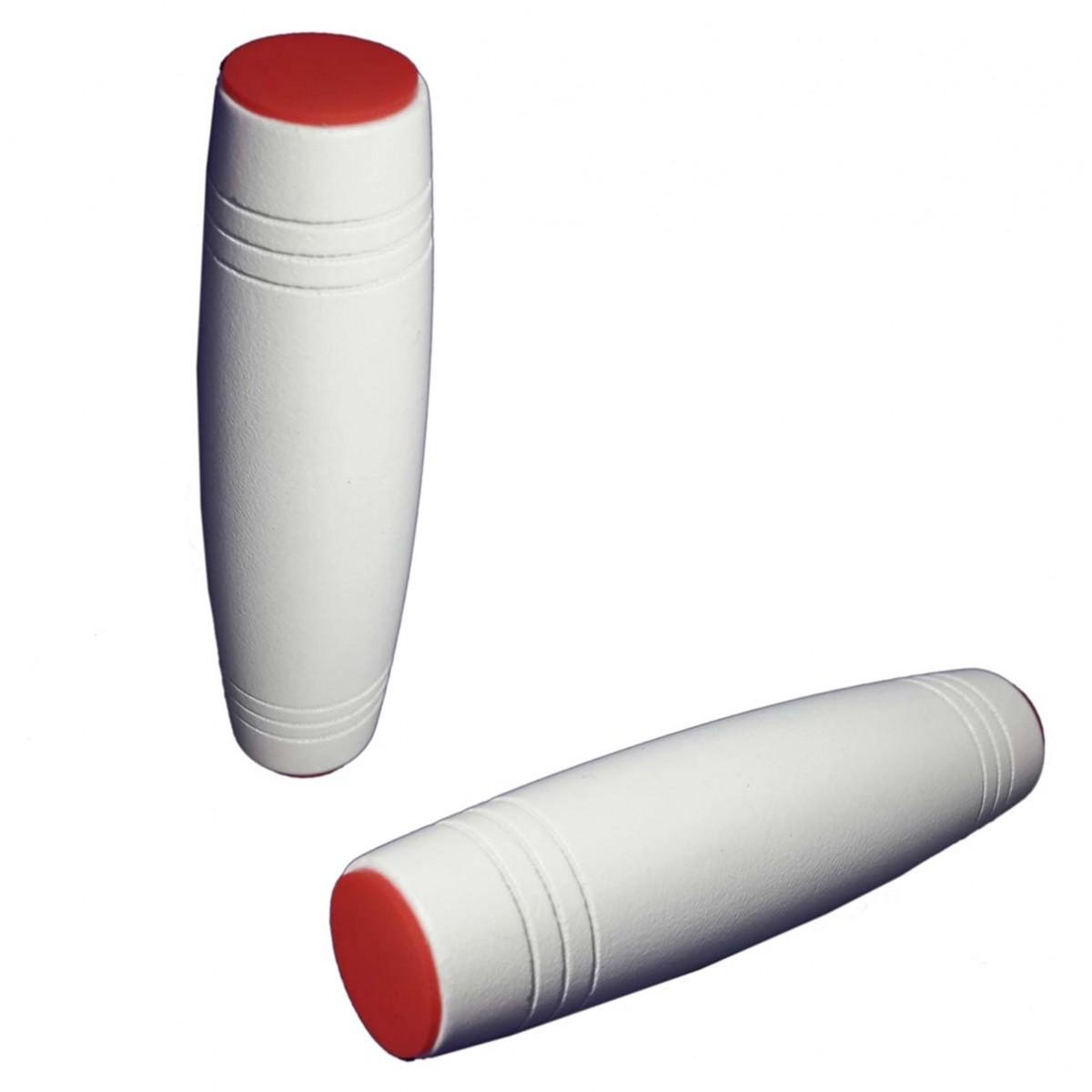 Fidget Mokuru Stick Bastao Roller Brinquedo Anti Stress Branco (bsl-gira-4 mokuru)