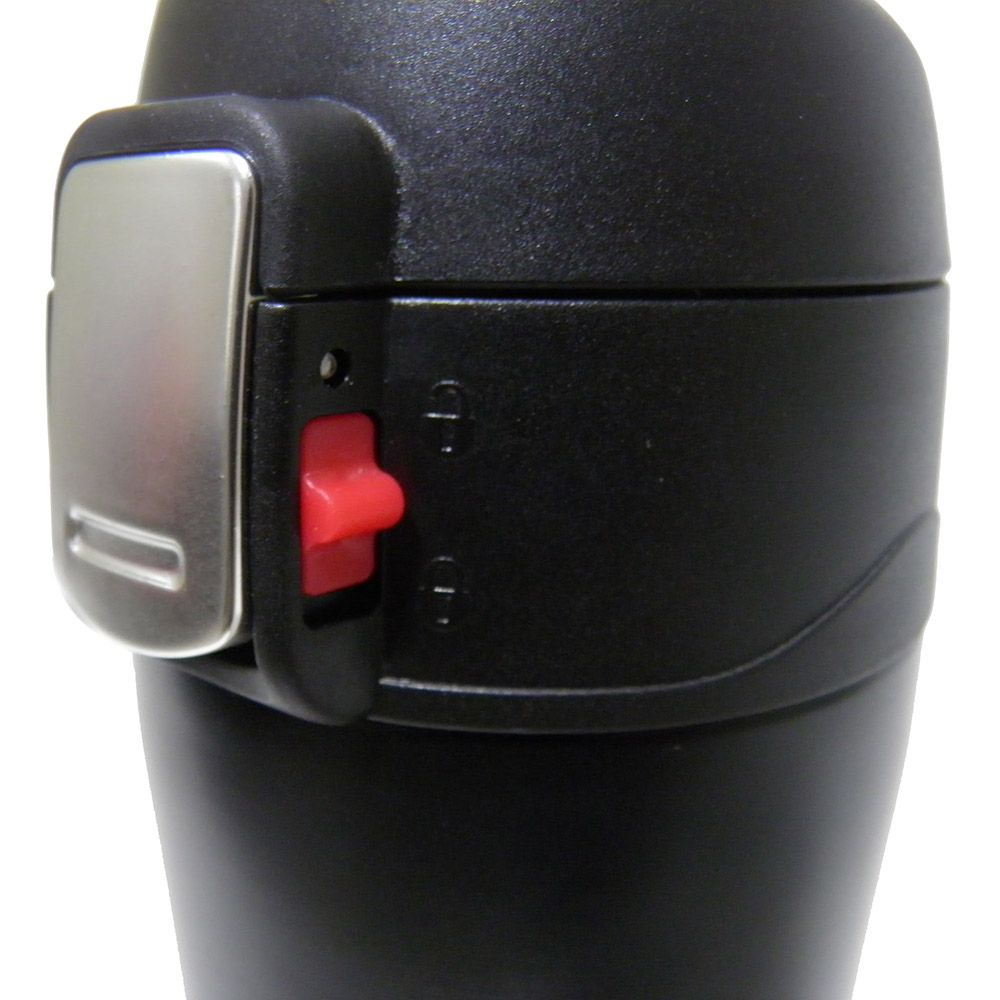 Garrafa Termica Aço Inox Preto 500ml Agua Café Vacuo Quente ou Frio (16001/Preto)
