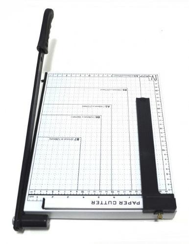 Guilhotina Corte Papel Corta 10 Folhas Com Trava Metal (BSL-GUI-2)