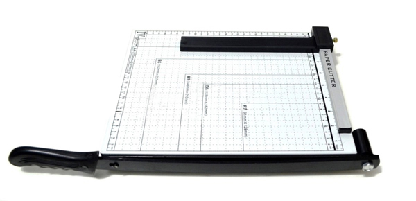 Guilhotina Para Cortar Papel 10 Folhas Metal Com Trava (BSL-GUI-2)