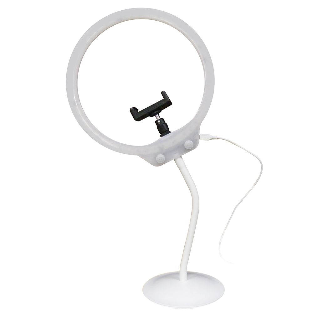 Iluminador Maquiagem Youtuber Usb Ring Light Fotografia Celular