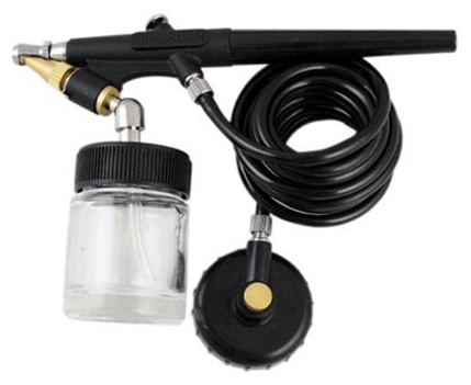 Kit Aerografo Pistola de Pintura Tipo Caneta Aerografismo (6918)
