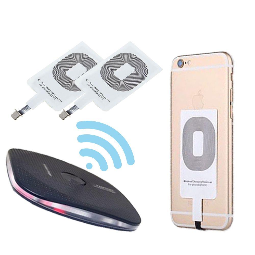 Kit Carregador Sem fio Celular Indutor QI Wireless Iphone