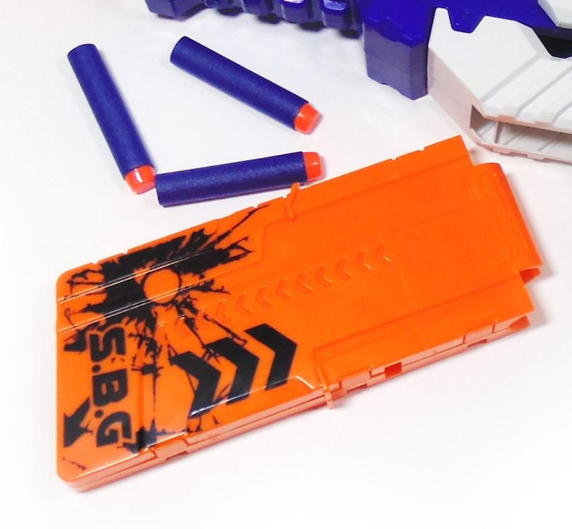 Lançador Master 60cm Brinquedo Super Shot 10 Dardos Azul (DMT5160)