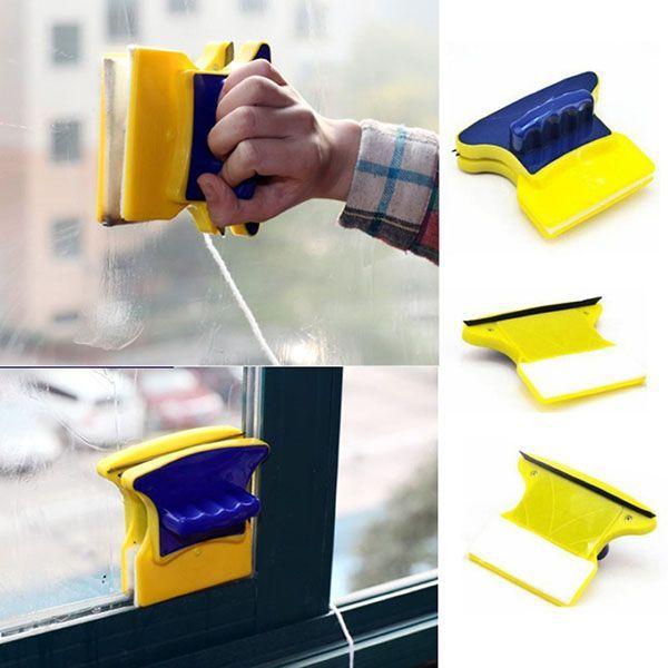 Limpador Magnético De Vidros E Janelas Dupla Face Com Super Ima Kit 5 Pares