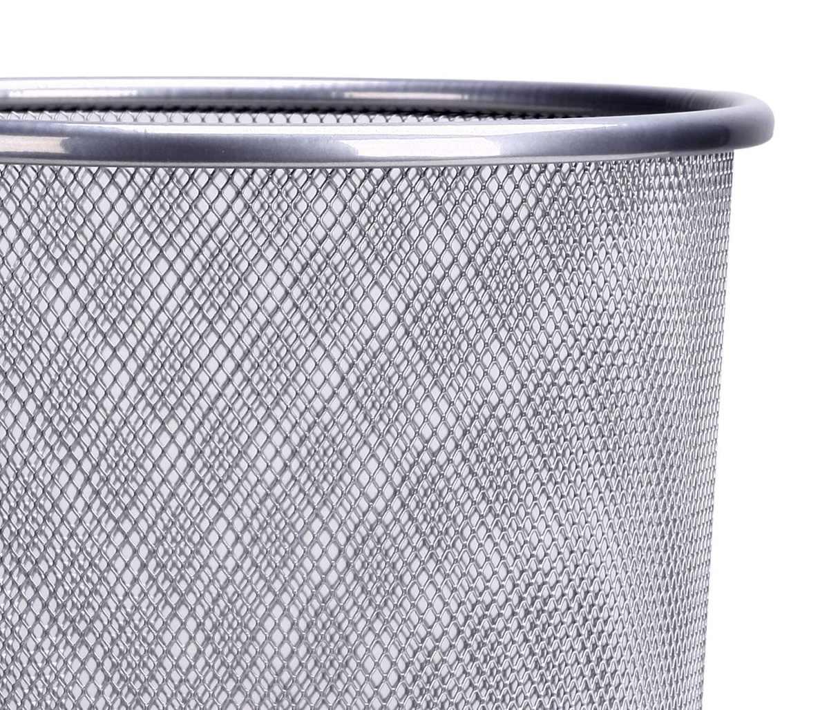 Lixeira Telada Redonda de Aço para Escritorio Cesto de Lixo(bsl-34008-1)