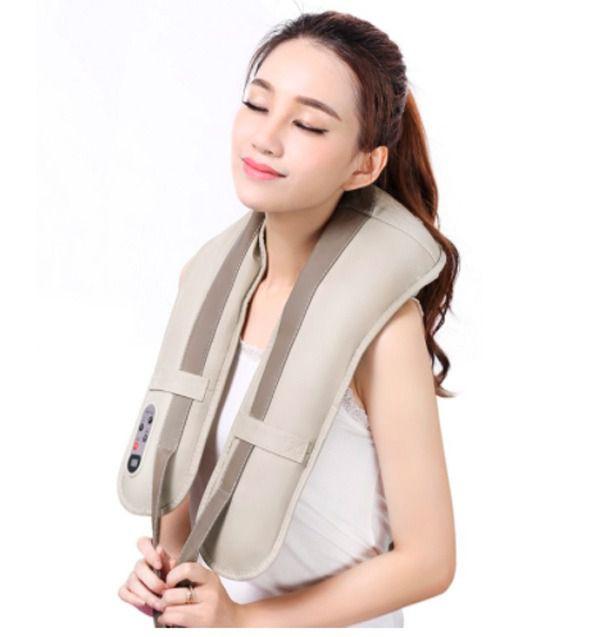 Massageador Cervical Para Dores Musculares Massagem Anti Stress Pescoco (TV-009)