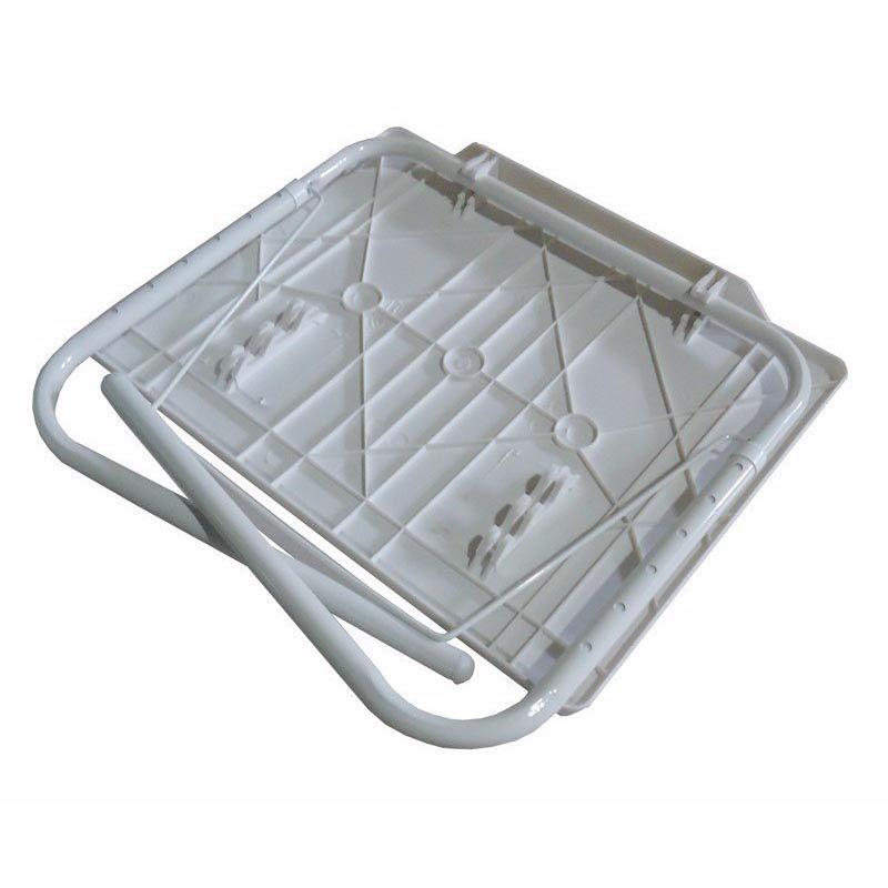 Mesa Dobravel Notebook Portatil Articulada Multi Uso 18 Em1 Branca