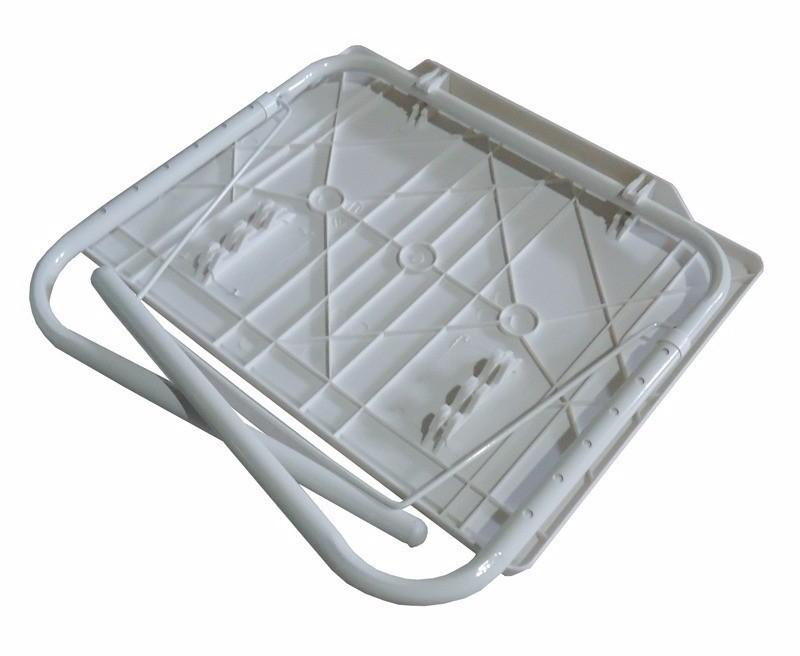 Mesa Dobravel Notebook Portatil Articulada Multi Uso 18 Em1 Cor Branca