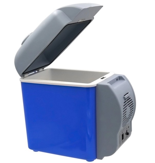 Mini Geladeira Cooler Veicular 2 em 1 Esfria e Aquece Portatil Carro Camping 7,5L (888407 / mc40343)
