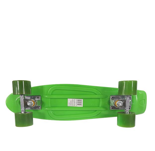 Mini Skate Profissional Truck Blindado Radical Rodas Abec 7 Shape Verde (SKT-2)