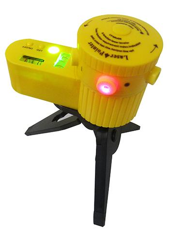 Nivel Laser Com Tripe Horizontal Vertical 5 Funçoes 2 Bolhas (LV-06)
