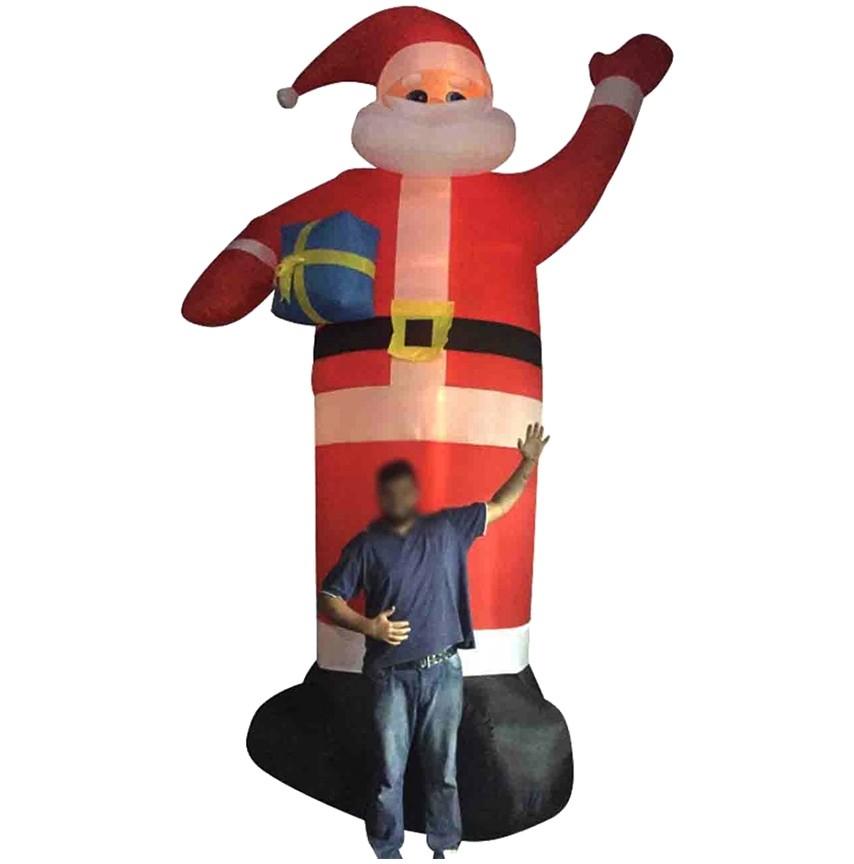 Papai Noel Inflavel Gigante 5 metros Decoracao Natal Enfeite Natalino (bsl-36041-6)