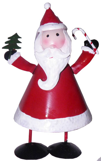Papai Noel Natal Kit Com 3 Uni Decoracao Enfeite