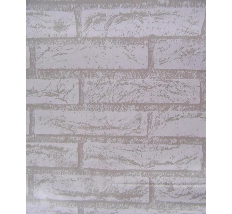 Papel de Parede Tijolo Pedra Branca Rustico Auto Adesivo Vinilico Lavavel (bsl-42079-1-B-1)