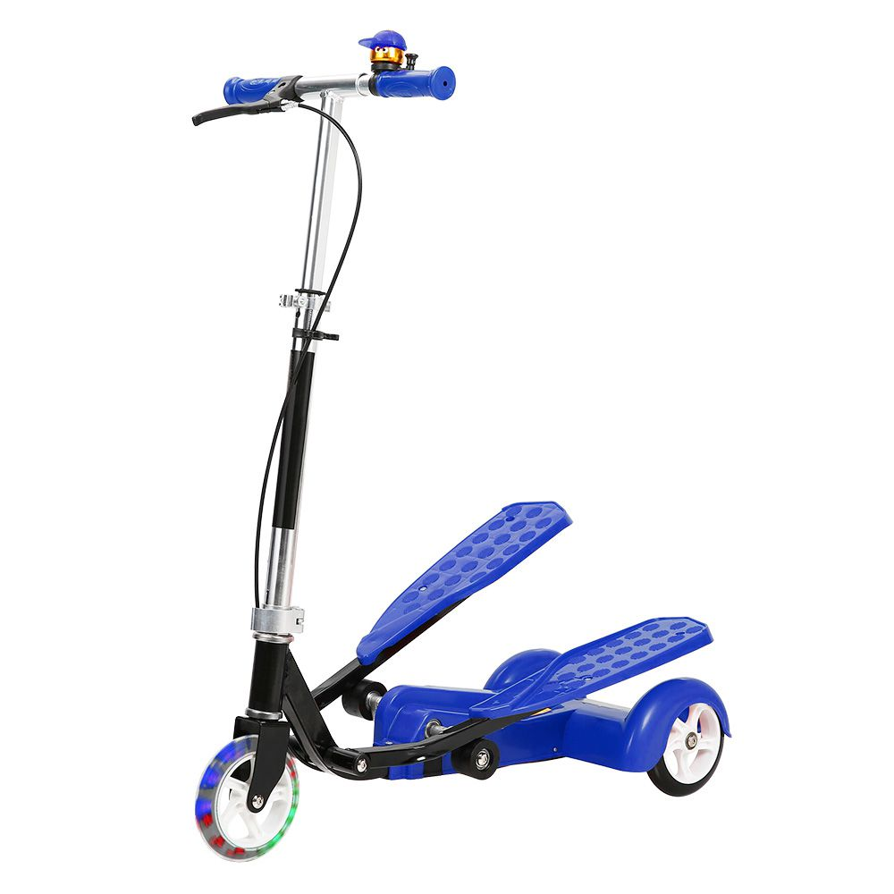 Patinete Transport Tres Rodas Infantil 50kg Metal Esporte Freio Regulavel (DMR5462/DMR5463)