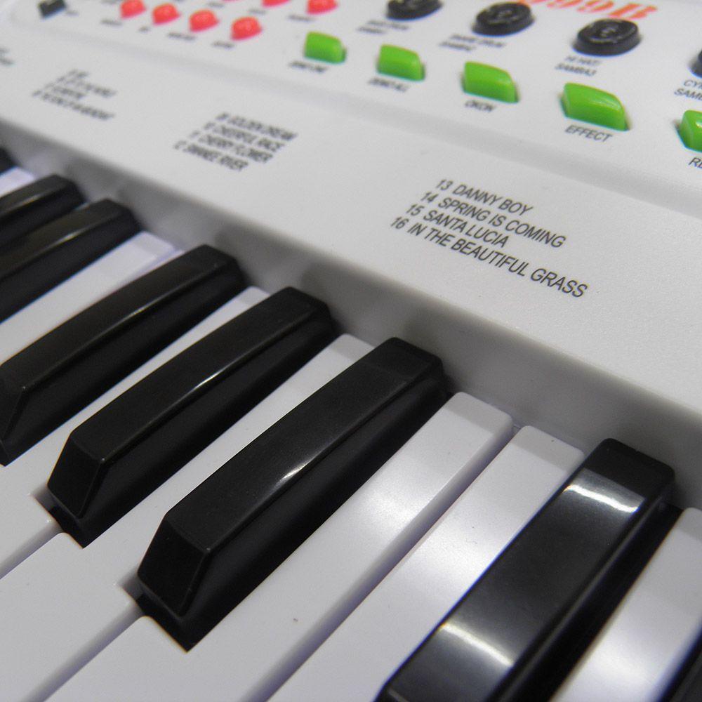 Piano Teclado Brinquedo Infantil Microfone Musical Educativo (DMT5386)
