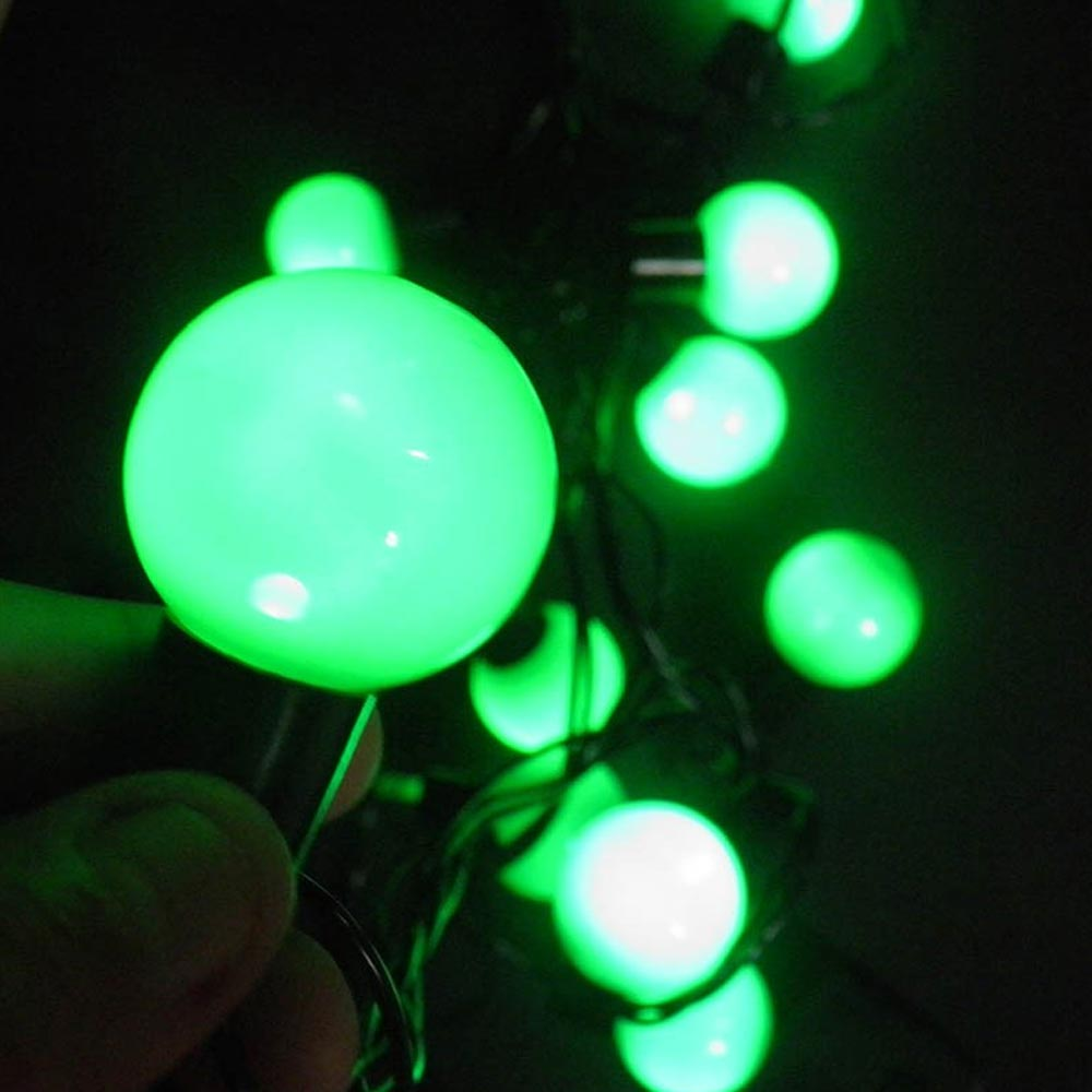 Pisca Pisca Varal 20 Lampadas de Led Natal 8 Funçoes Decoracao Verde (JA-80506)