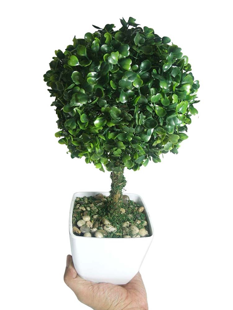 Buchinho Planta Artificial Com Vaso Ornamentacao Festa Decoracao Jardim Casa (bsl-sh-7)