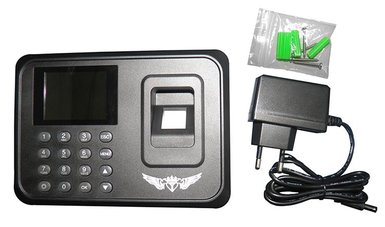 Ponto Digital Biometrico Relogio Eletronico Impressao Digital