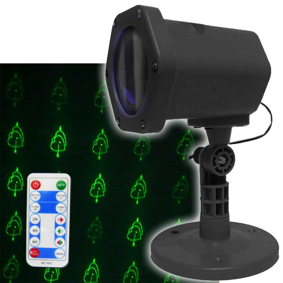 Projetor Laser Controle Remoto Decoracao Luzes Natal Balada Festa (888647)