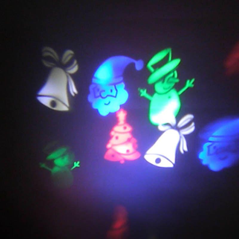 Projetor Led Holografico Natal Festa Luz Casa Jardim Natalino