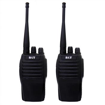 Radio Transmissor Comunicador Walkie Talkie O Par Bateria 16 Canais (BSL-RADIO-1)