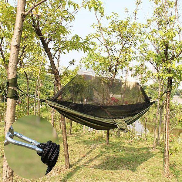 Rede de Camping Para Descanso Mosquiteiro 150kg Viajar Bolsa (BSL-REDE-1)