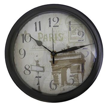 Relogio De Parede Vintage Decoracao Paris Retro