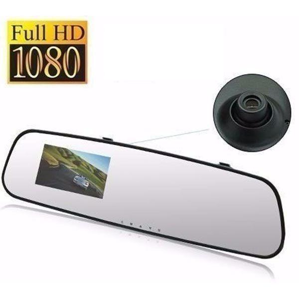 Retrovisor Camera Filmadora Espelho Veicular espia Gravacao 1080P FULL HD (L-3000 / BSL-CAR-2)