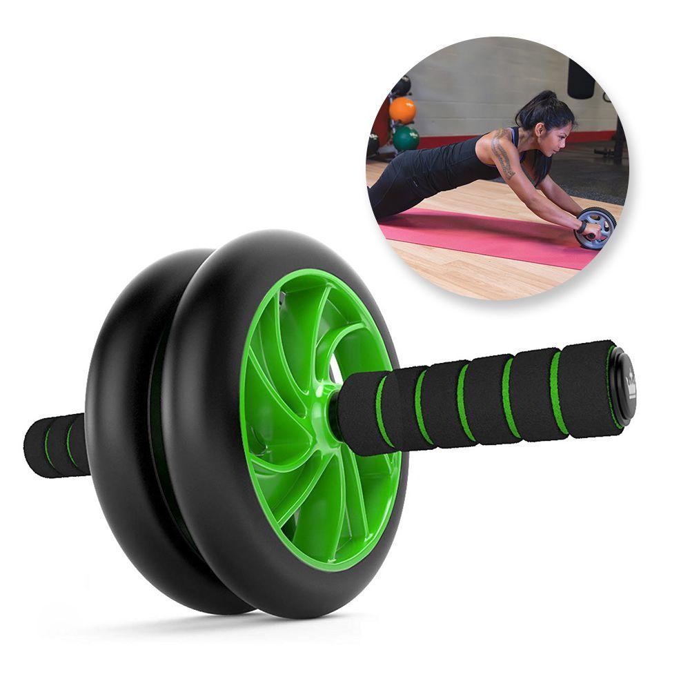 Roda Rolo Para Exercicio Abdominal Fitness Crossfit Musculo Lombar