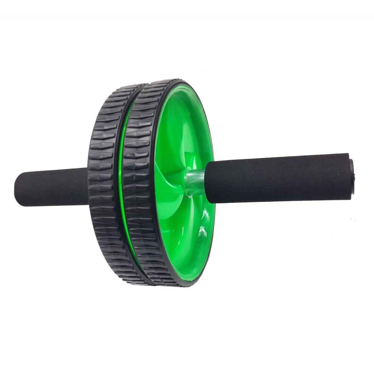 Rolo Roda Abdominal Exercicio Fisico Abdomem Musculo Braço Ombro Verde (BSL-JS002)