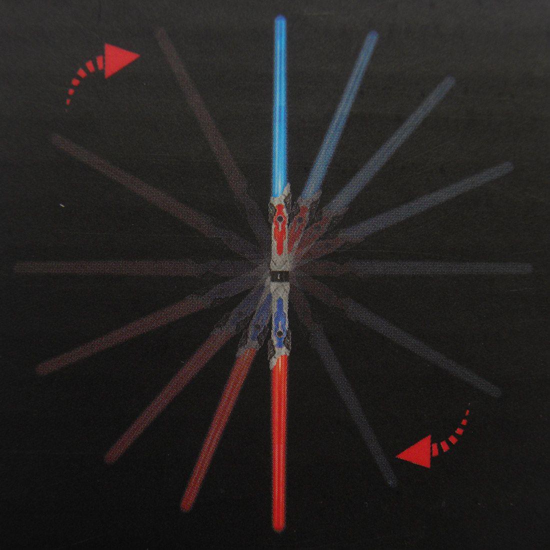 Sabre de Luz e Som Espada Bastao Star Wars Brinquedo