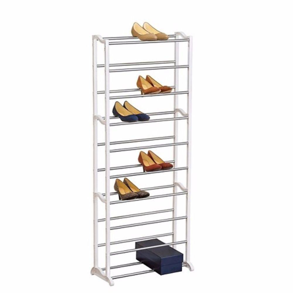 Sapateira Vertical 10 Andares Casa Quarto 30 Pares Sapatos