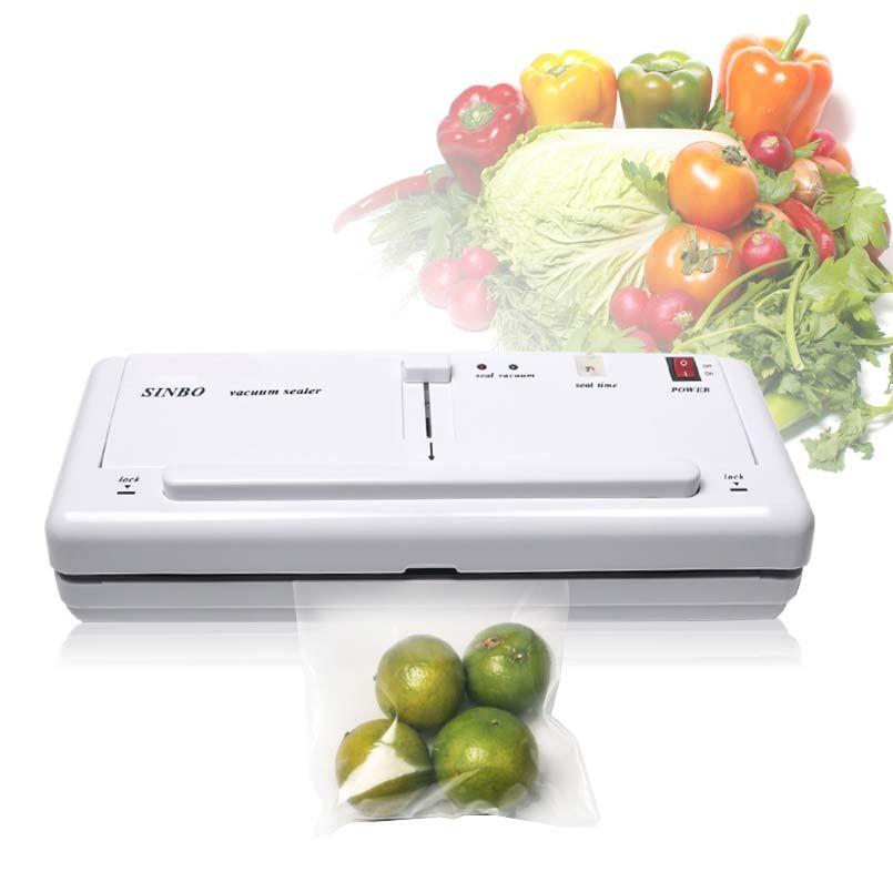 Seladora A Vacuo Alimentos Embala Plastico Maquina 110v (82112)