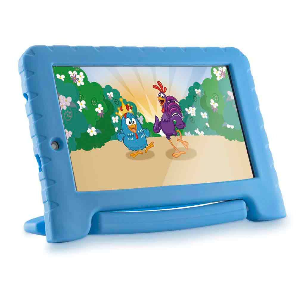Tablet Infantil Galinha Pintadinha 7 Pol 1gb Ram Quad Core Android 7.0 8gb Wifi Crianca (NB282)