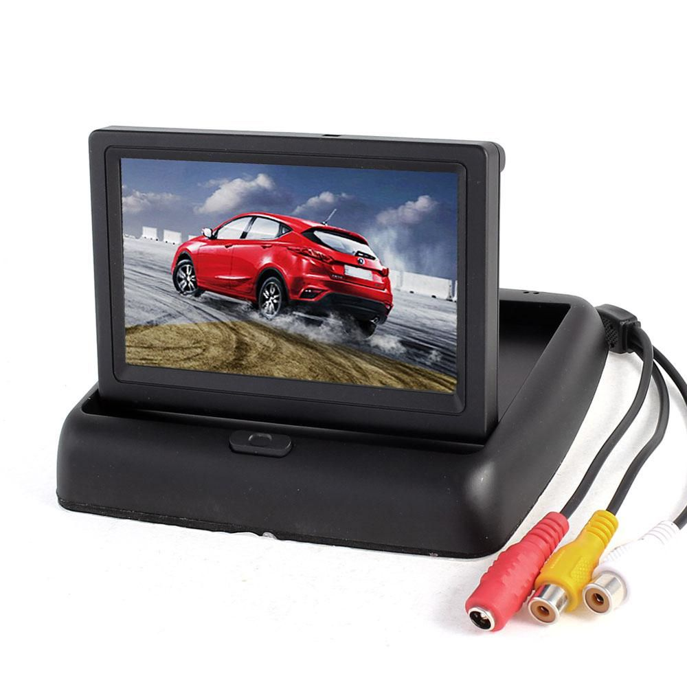 Tela Monitor  Camera De Re Automotivo E Dvd Lcd Carro