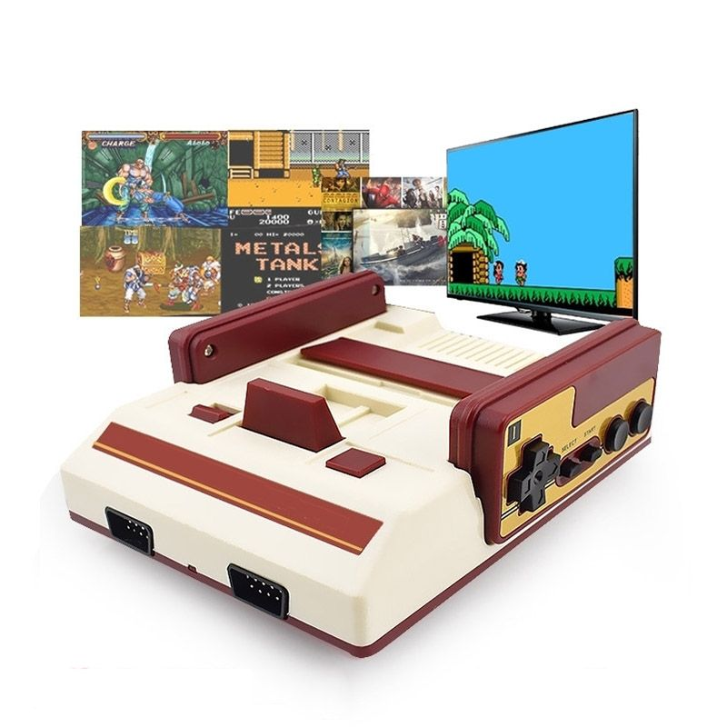 Video Game 8Bit Retro Controle sem Fio Hd 88 Jogos Hdmi AV Antigo