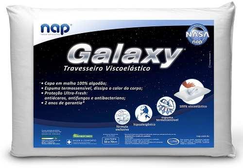 Kit Travesseiro Nasa Galaxy Nap - 8 Peças