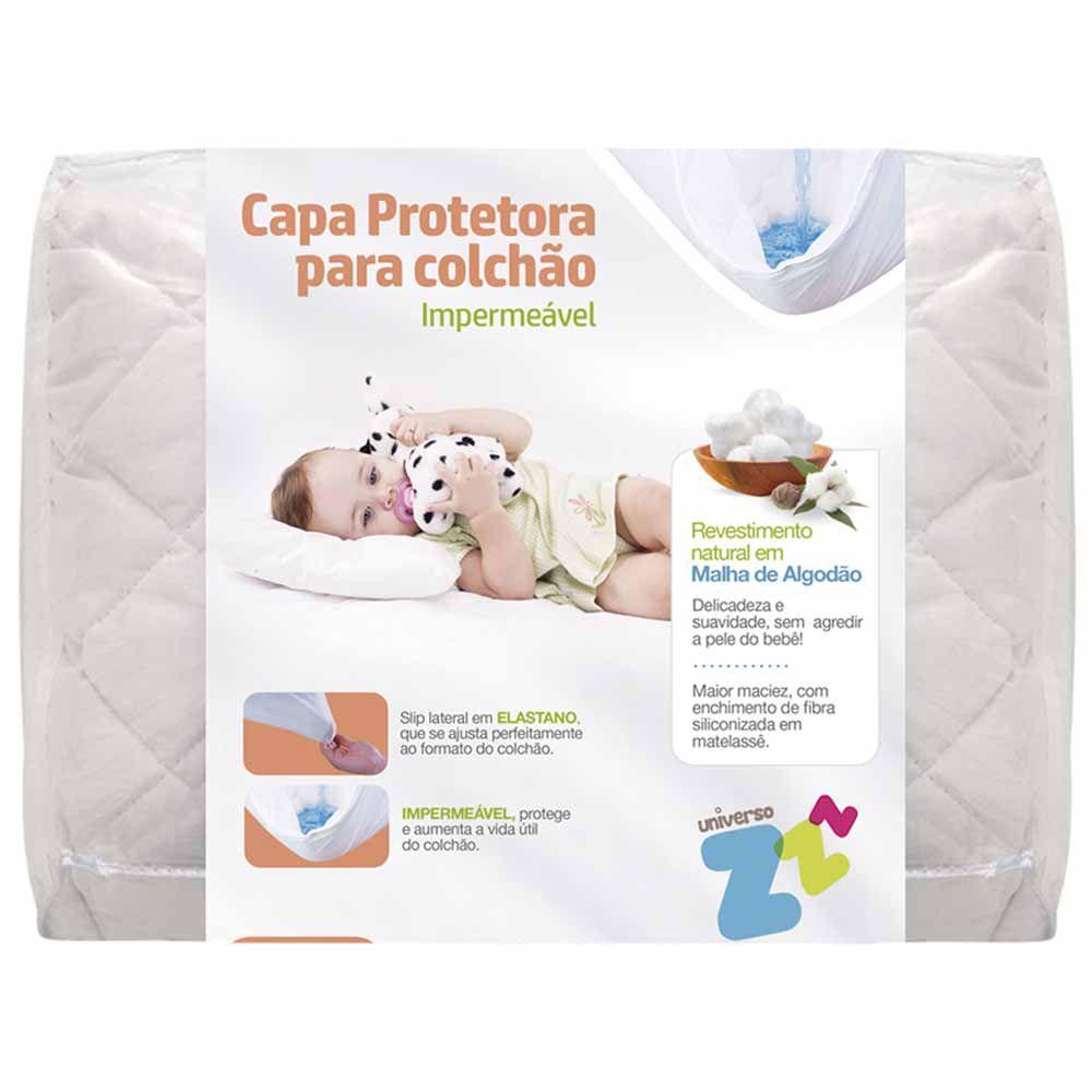 Capa Protetora de Colchão Impermeável Baby Fibrasca
