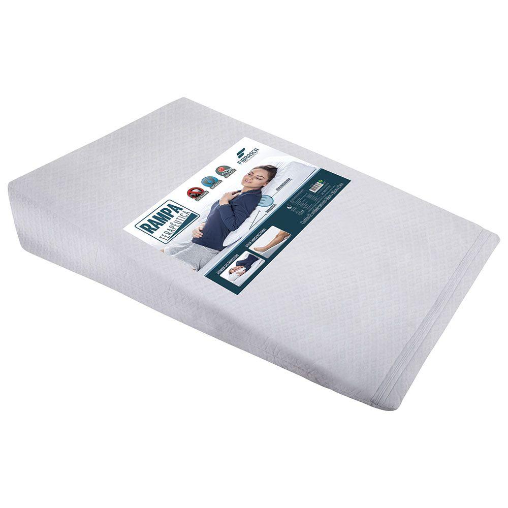 Kit 1 Travesseiro Anti Refluxo Adulto + 1 Capa Protetora