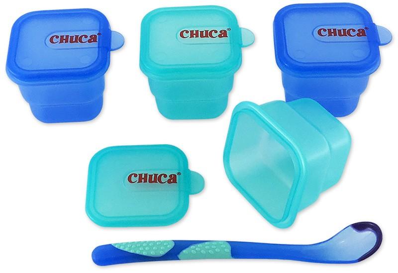 Kit de Alimentação para Viagem Chuca Baby - 4 Peças