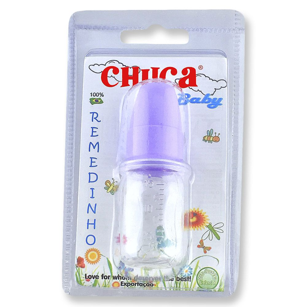 Mini Mamadeira para Remédio de 15 ml - Chuca Baby
