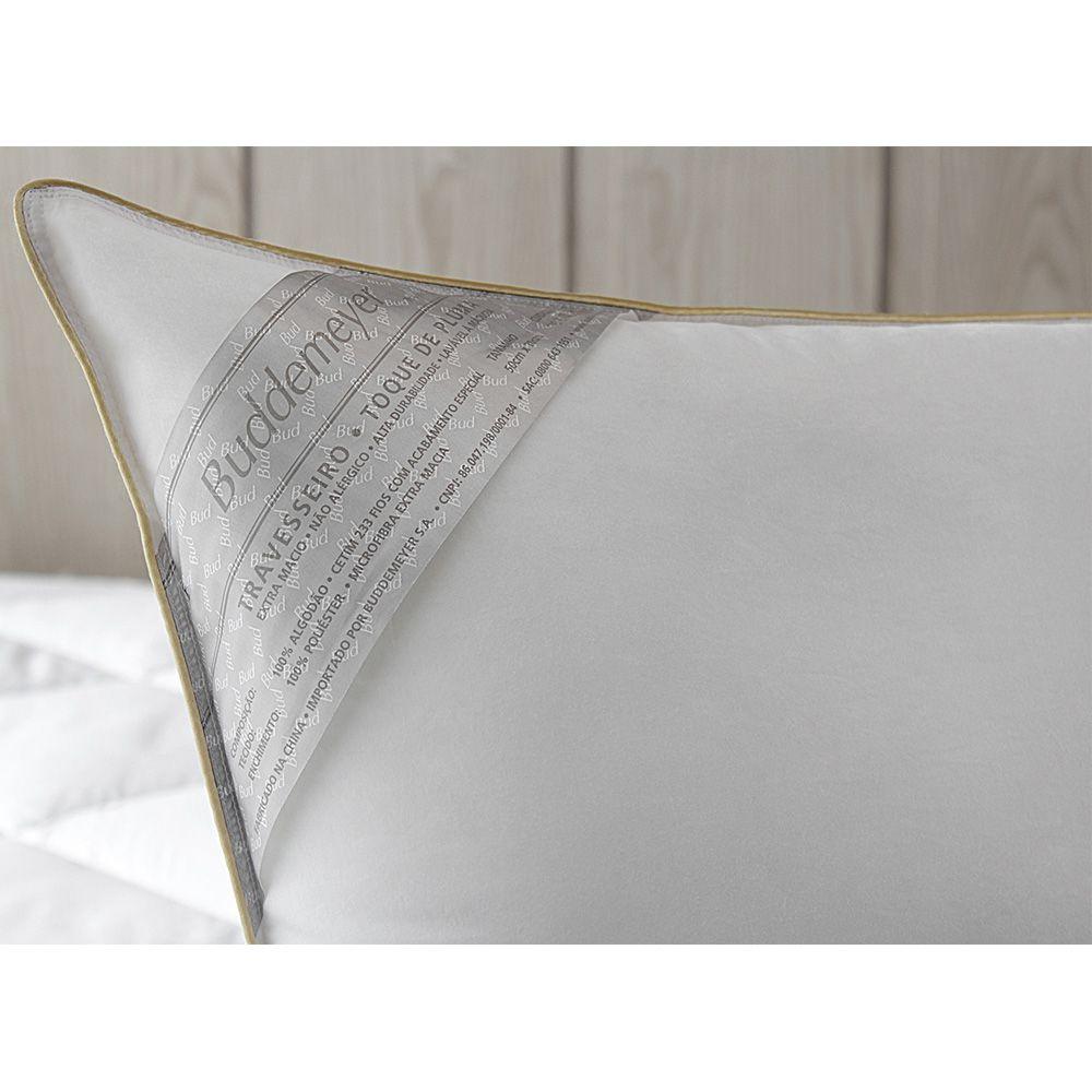 Travesseiro Toque de Pluma 50x70cm Branco Buddemeyer