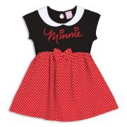 Camisola Feminina Infantil Lupo Minnie Fantasia