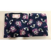 Pijama Feminino Infantil e Juvenil  Mafessoni  unicórnio Estampado em Soft Super Quente 200339