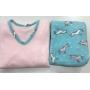 Pijama Feminino Adulto Paulienne  Unicórnio rosa em Microsoft Extra quente 23365