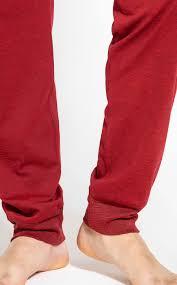 Pijama Masculino Mixte Blusa manga Longa com Calça Red em algodão Especial 9762