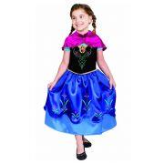 Fantasia Anna Luxo Frozen - Infantil